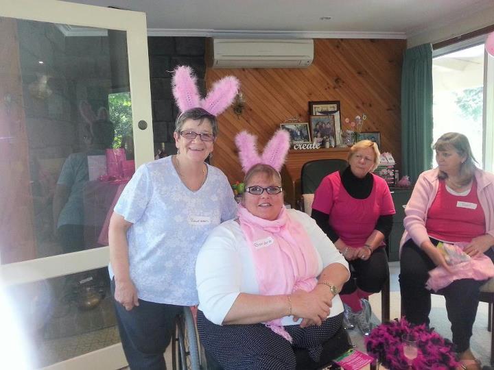 Maureen ,Sandra,Rosemary,Toni