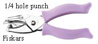 1-4 fiskars hole punch
