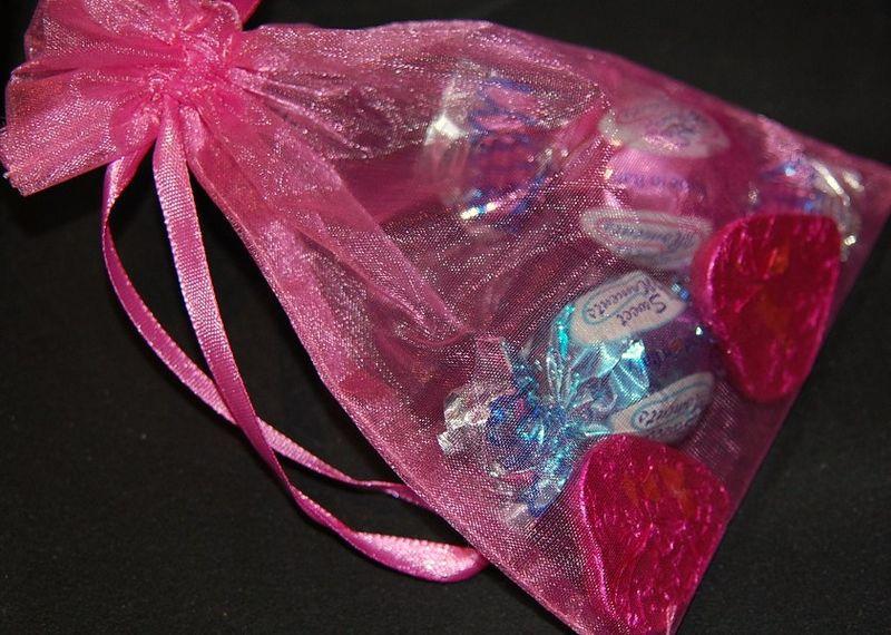 Pink Treat Bag