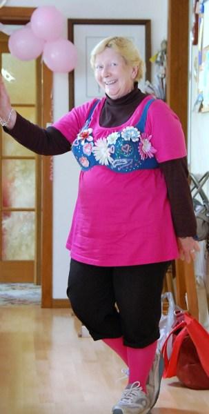 Rosemary modelling bra