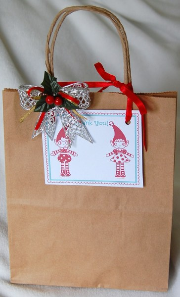 Gift Bag with Thank you Card