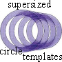 Supersized circles