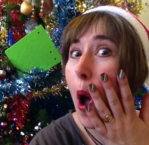 Debbie Christmas pic