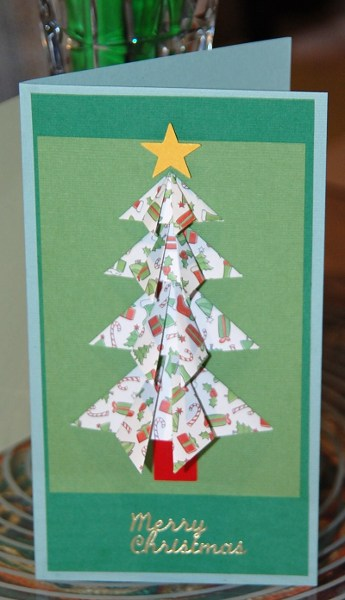 Handmade card recycled
