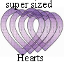 Supersized hearts
