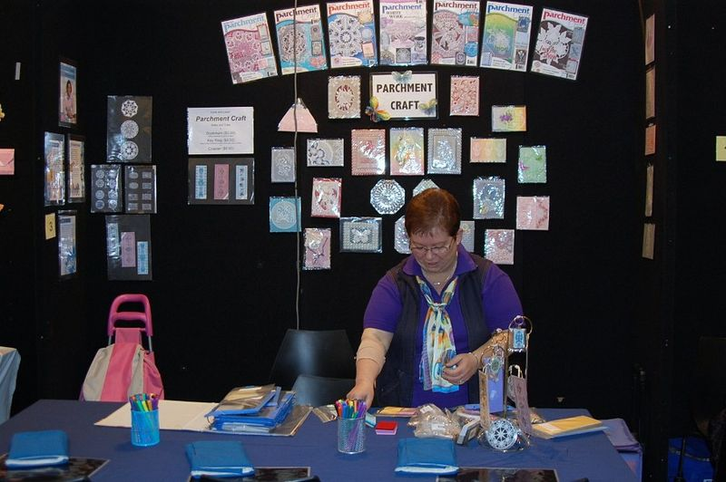 Parchmentcraft stand