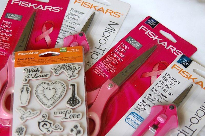 Pink scissors