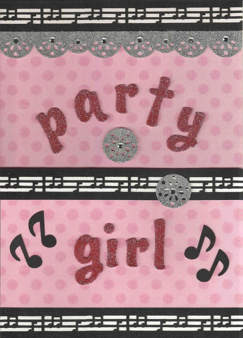 Party Girl front view - closed small file