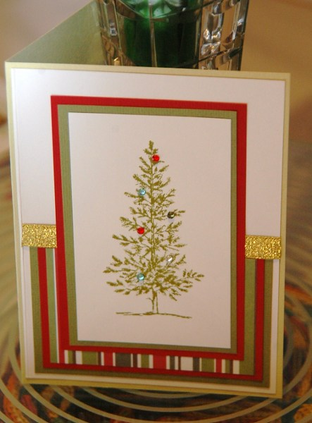 Handmade card recycled (2)