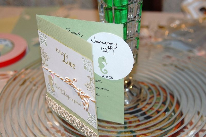 Outside and inside card