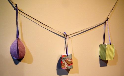 String of lanterns