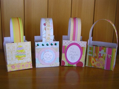 Easter baskets one for the kids fiskars craft easterbaskets0033 negle Images