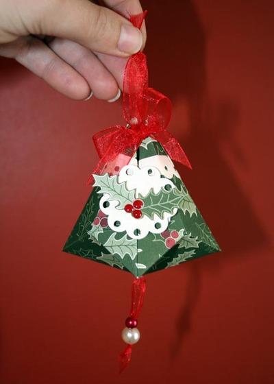 December Challenge ~ papercraft Christmas Ornaments - Fiskars Craft
