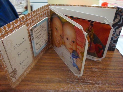 Nana's Brag Book - Lyn ( corner bracket)