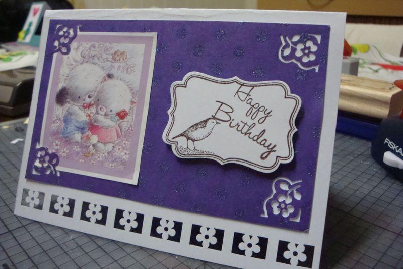 Birthday Card by Lyn