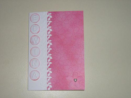 Card Edwina by Dianne