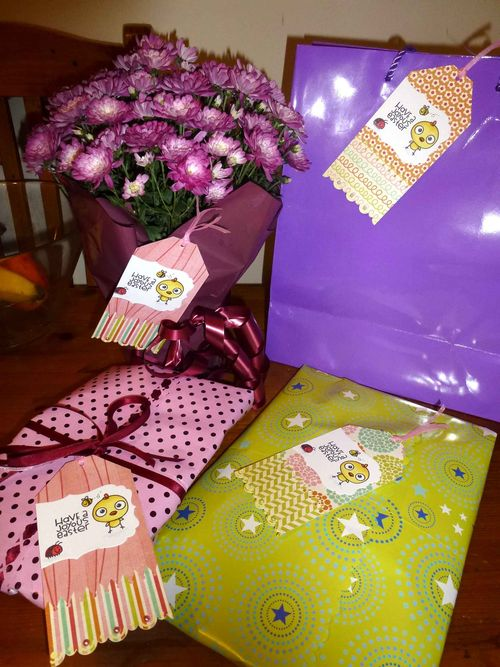 Easter Tags and Gift Wrap by TARA