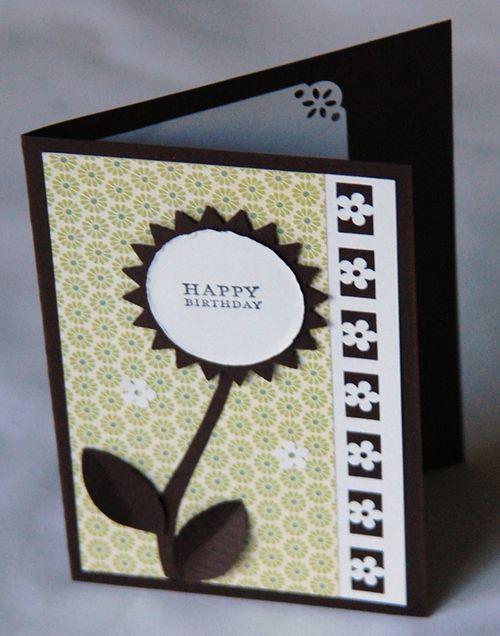 Flower card by Lyn