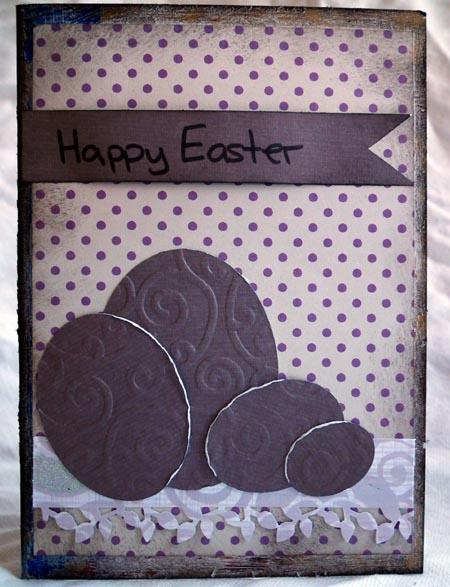 Happy Easter Card by Debbie