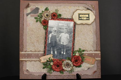Nostalgia Layout by Pauline