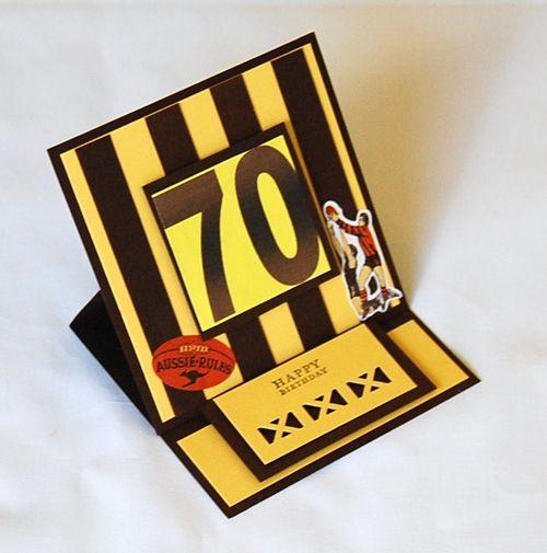 Male Birthday Easel Card - Lyn