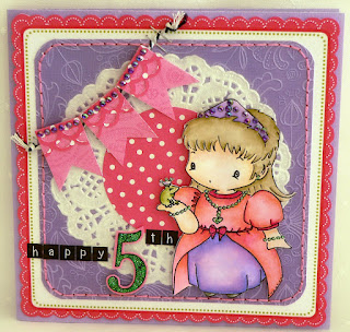 Princess 5 card by Michelle