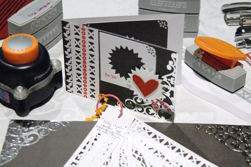Valentine Card and Tools by Lyn
